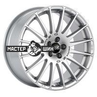 6,5*15 5*112 ET35 75 OZ Superturismo GT Race Silver + Black Lettering