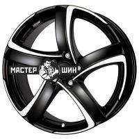 7*16 5*110 ET38 65,1 Alutec Shark Racing black front polished