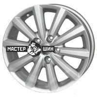 6*16 5*114,3 ET50 60,1 FR replica SZ9008 Silver