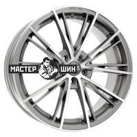 7,5*17 5*100 ET35 68 OZ Envy Matt Silver Tech Diamond Cut