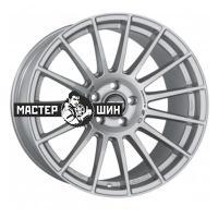 7,5*18 5*100 ET48 68 OZ Superturismo LM Matt Race Silver + Black Lettering