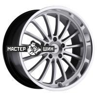 8*17 5*114,3 ET40 76 TSW Zolder Hyper Silver Mirror Cut Lip