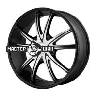 8*18 5*114,3 ET38 72,62 American Racing AR897 Black/Machined
