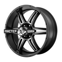 9,5*22 6*135 ET35 87 American Racing AR890 Black/Machined