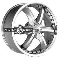 9,5*20 5*120 ET40 74,1 Antera 389 Silver Matt Lip Polished