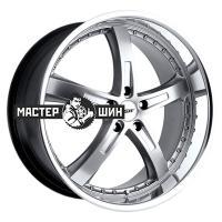 8*18 5*112 ET45 72 TSW Jarama Hyper Silver Mirror Cut Lip