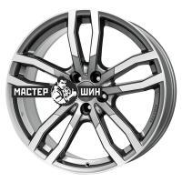 9*20 5*112 ET33 66,5 Alutec DriveX Metal Grey Front Polished